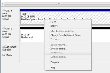 Программный рейд 0 Windows 7 как восстановить?