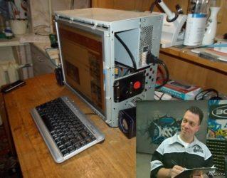 Как сделать ноутбук монитором для системного блока?