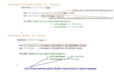 Загрузка файлов на сервер PHP – избавляемся от «чемоданов без ручек» | 250x395