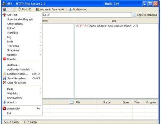 Программа для обмена файлами по локальной сети