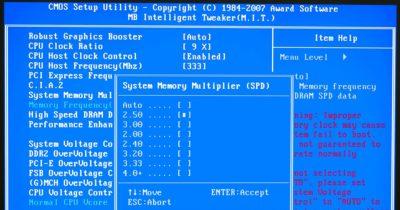 Как поднять частоту оперативной памяти?