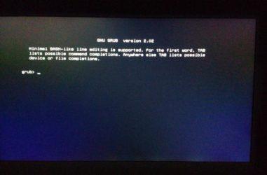 Установка grub из под Windows 10