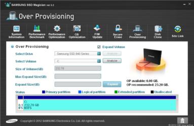 Утилита самсунг для SSD