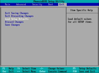 Load setup defaults в БИОСе что это?
